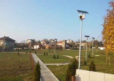 Поливна система и реконструкция на зелени площи, с. Горна Малина